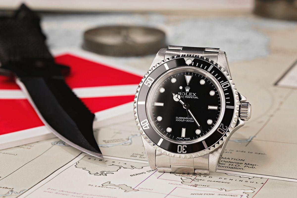 Black Rolex Watches