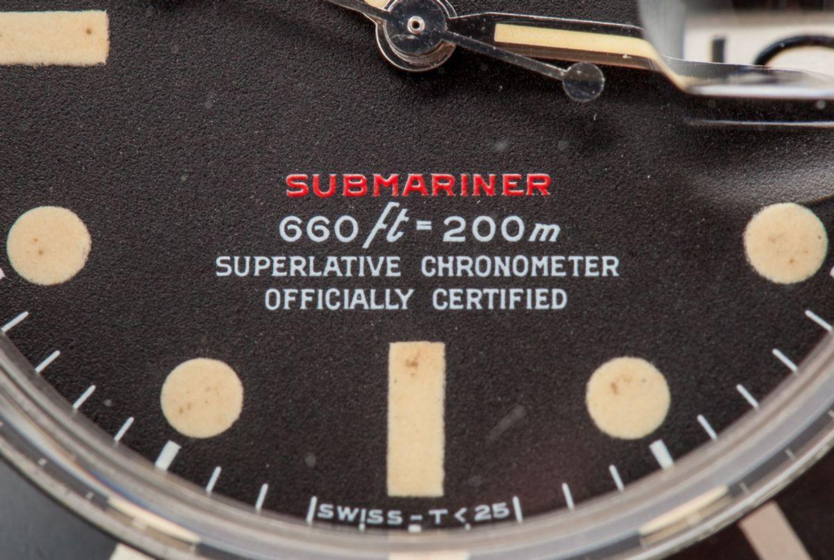 Red Rolex Submariner 1680