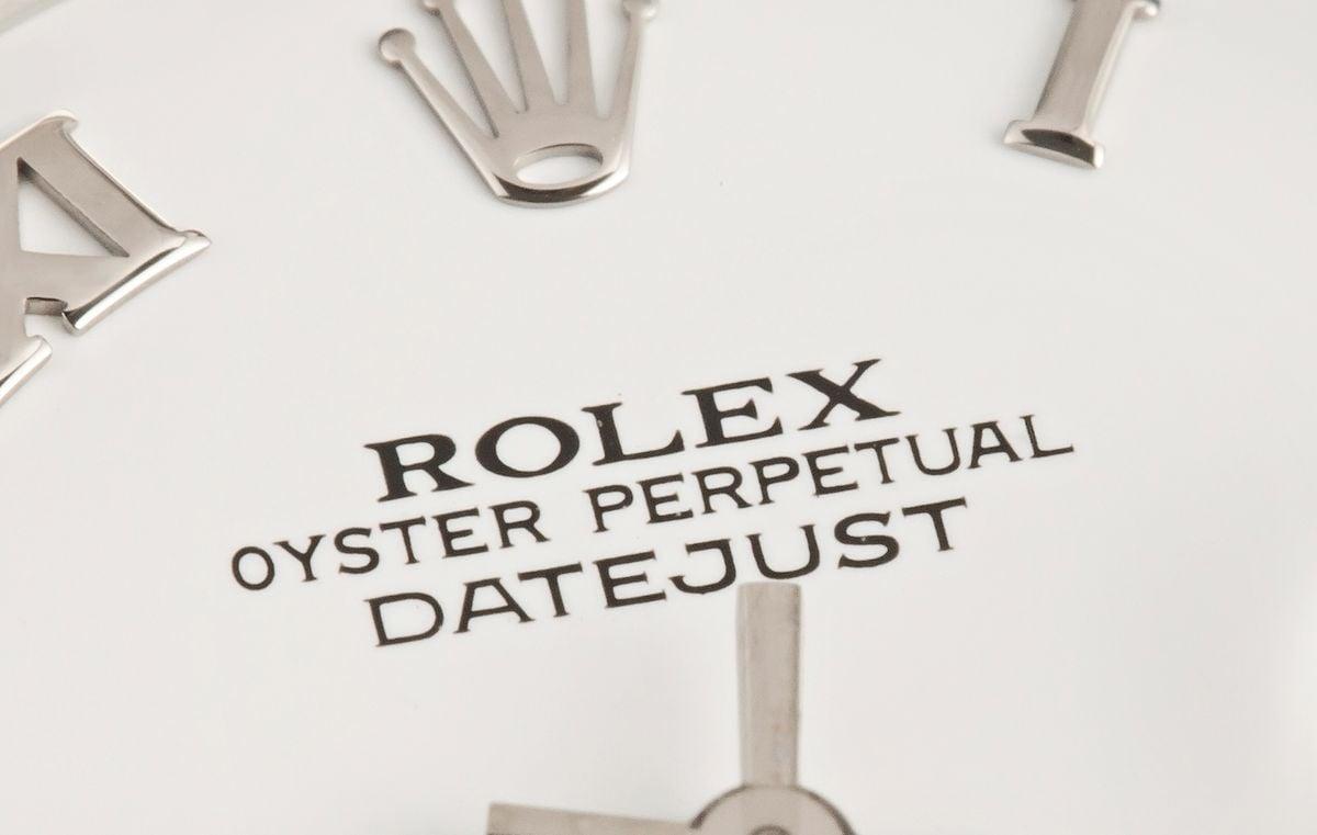 Rolex Datejust 31 White Rolesor 278274