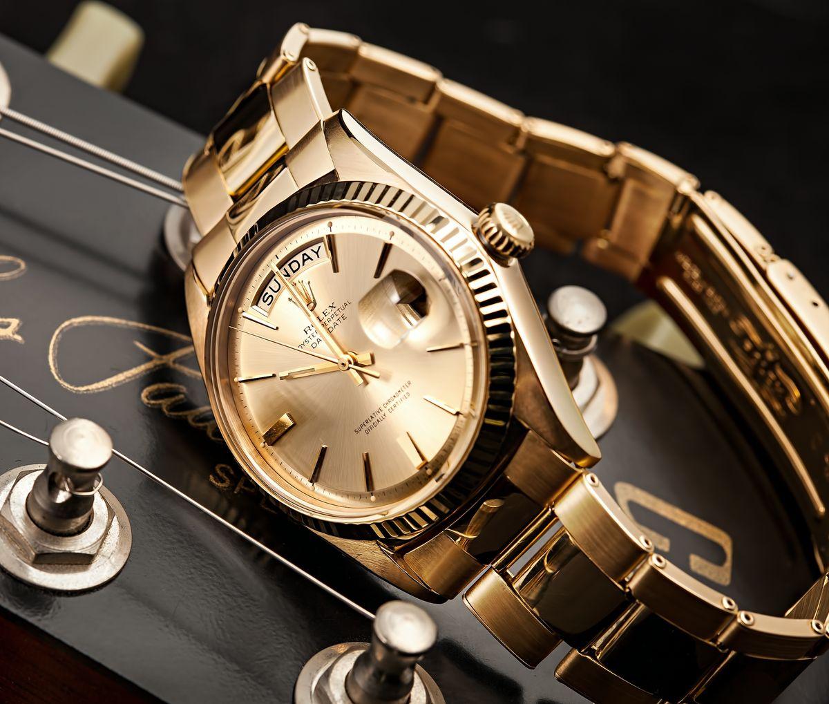 1950s Vintage Rolex Day-Date 1803