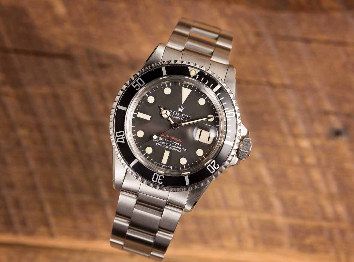 Vintage Red Rolex Submariner Reference 1680 Ultimate Guide
