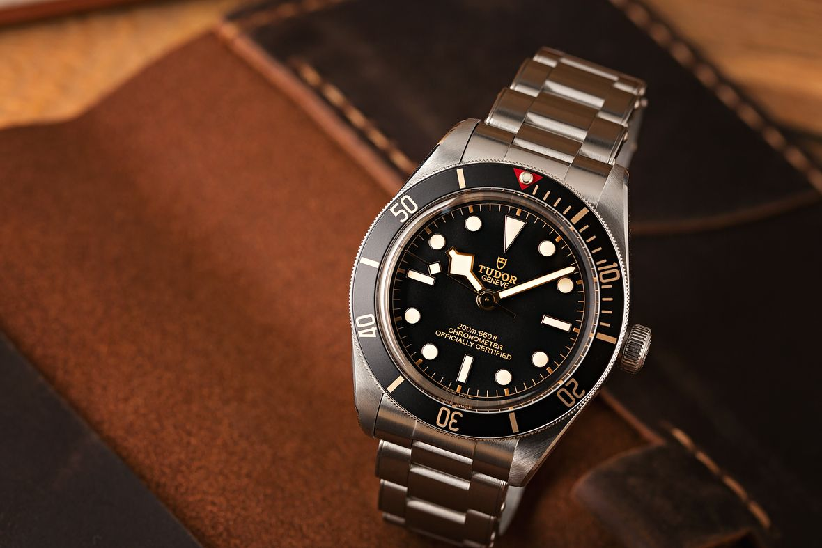 Best Luxury Watches Tudor Black Bay Fifty-Eight Black Dial