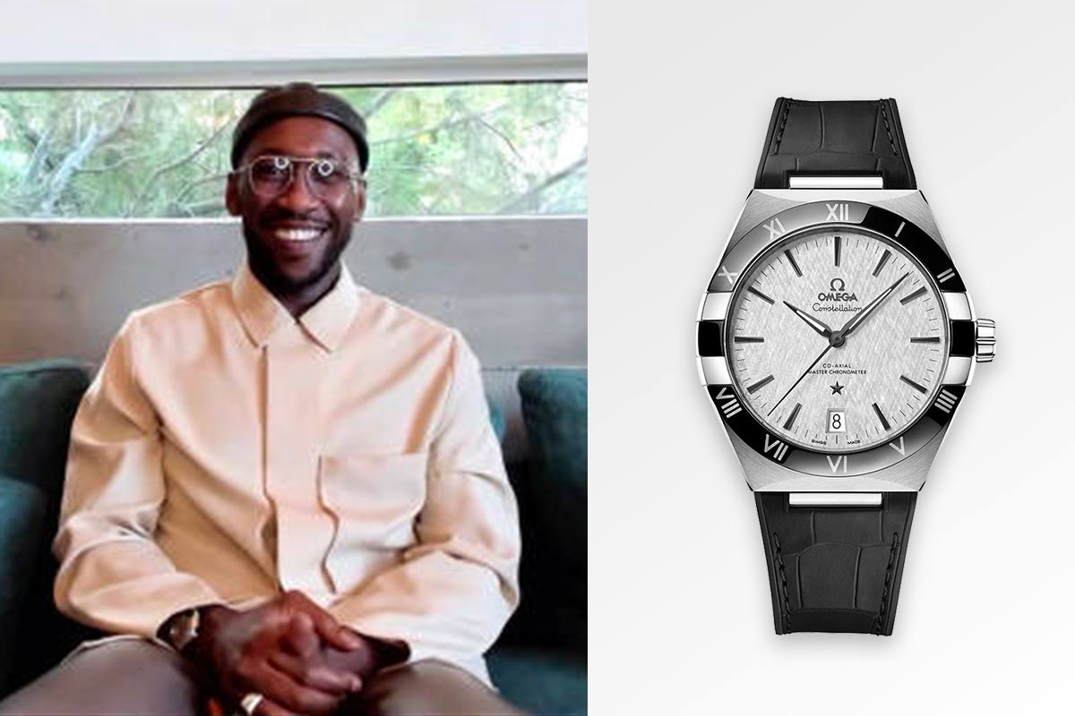 Mahershala Ali Omega Watches Constellation