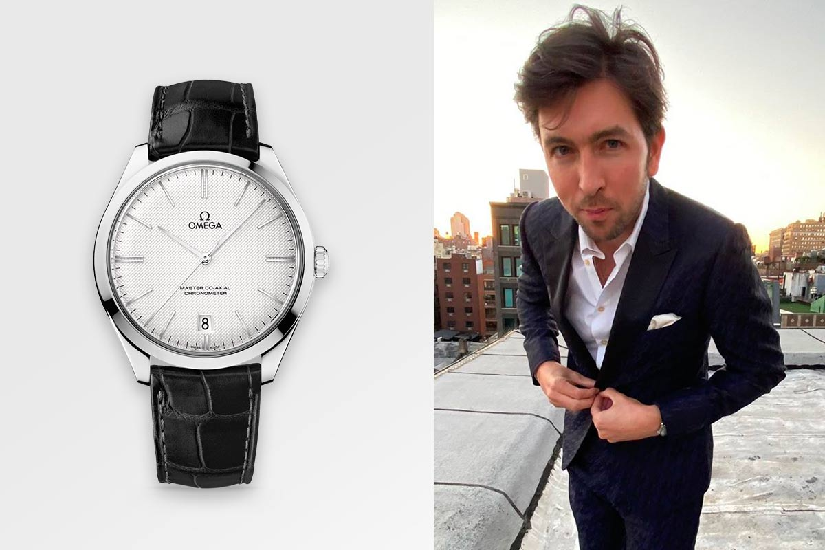 Nicholas Braun Omega Watches De Ville Tresor