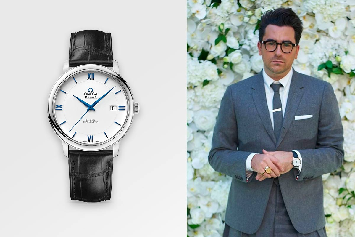 Dan Levy Omega Watches De Ville Prestige