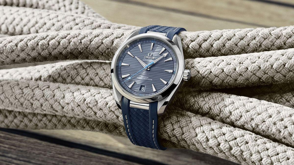 Omega Seamaster Aqua Terra Blue Dial