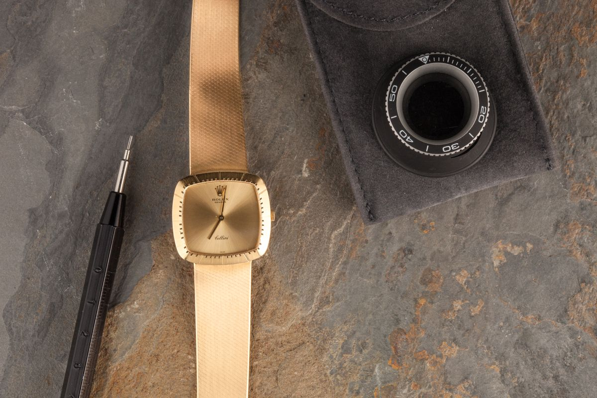 Rectangular Rolex Watches Cellini 4320