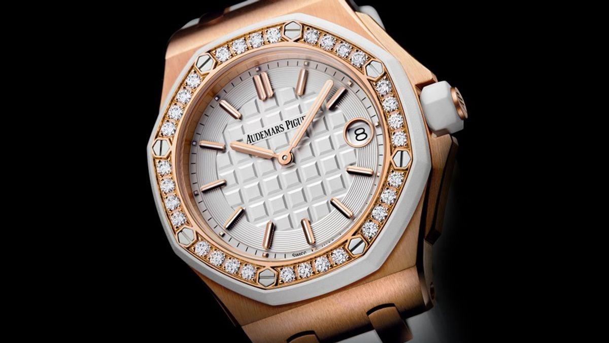 Athletes Luxury Watches Serena Williams Audemars Piguet Royal Oak Offshore