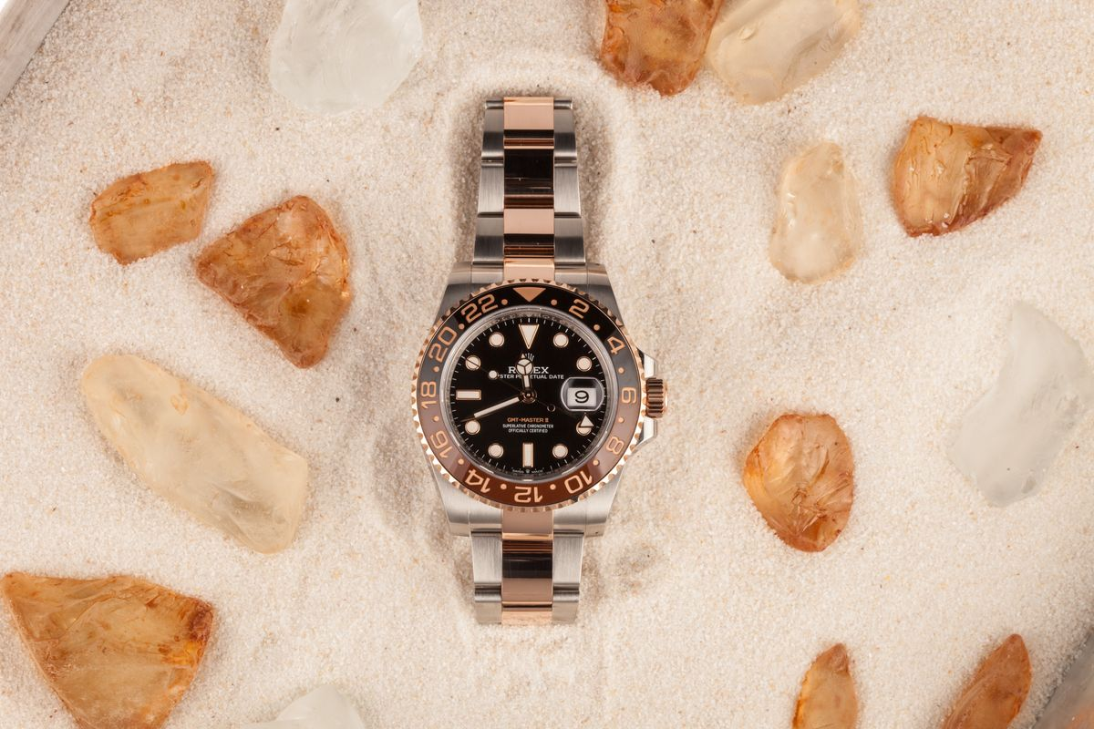 Black Dial Rolex GMT-Master II 126711CHNR Root Beer