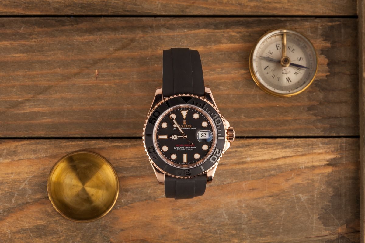 Black Dial Rolex Yacht-Master 40 116655