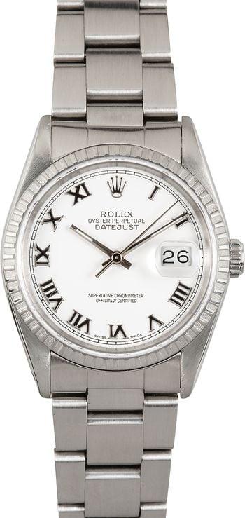 Rolex Datejust 36 Stainless Steel 16220