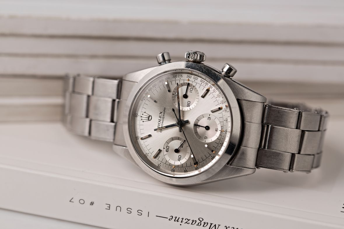 Rolex Cleaning Vintage Pre-Daytona 6238 Stainless Steel