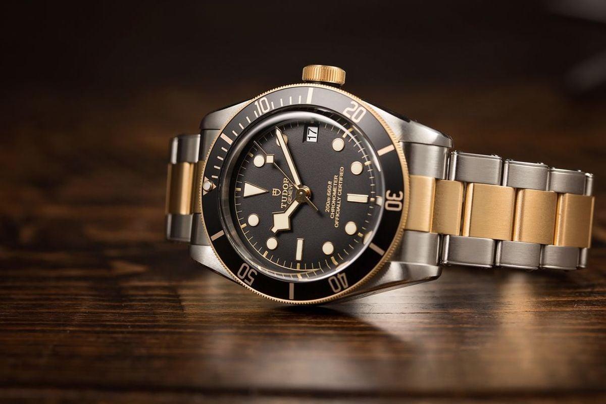 Athletes Luxury Watches David Beckham Tudor Black Bay S&G