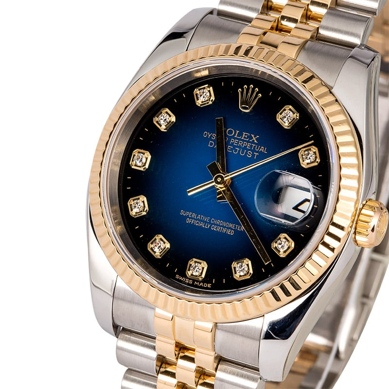 Blue Rolex Watches