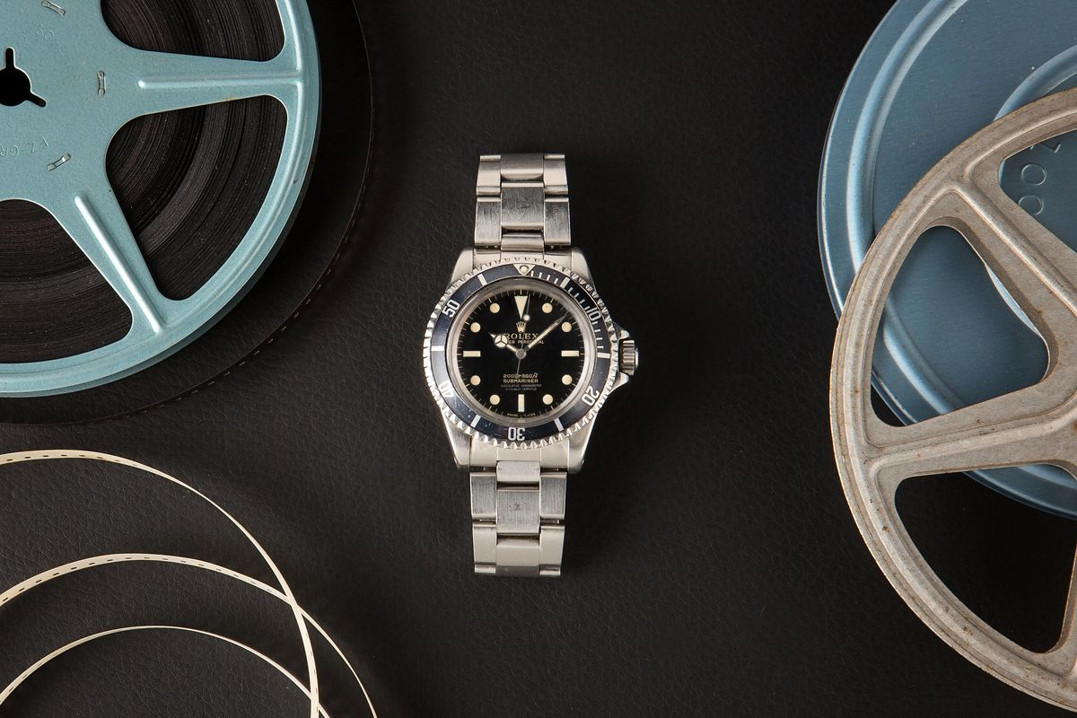 Luxury Watch Auction Iconic Watches Hollywood - Rolex Submariner 5512 Steve McQueen