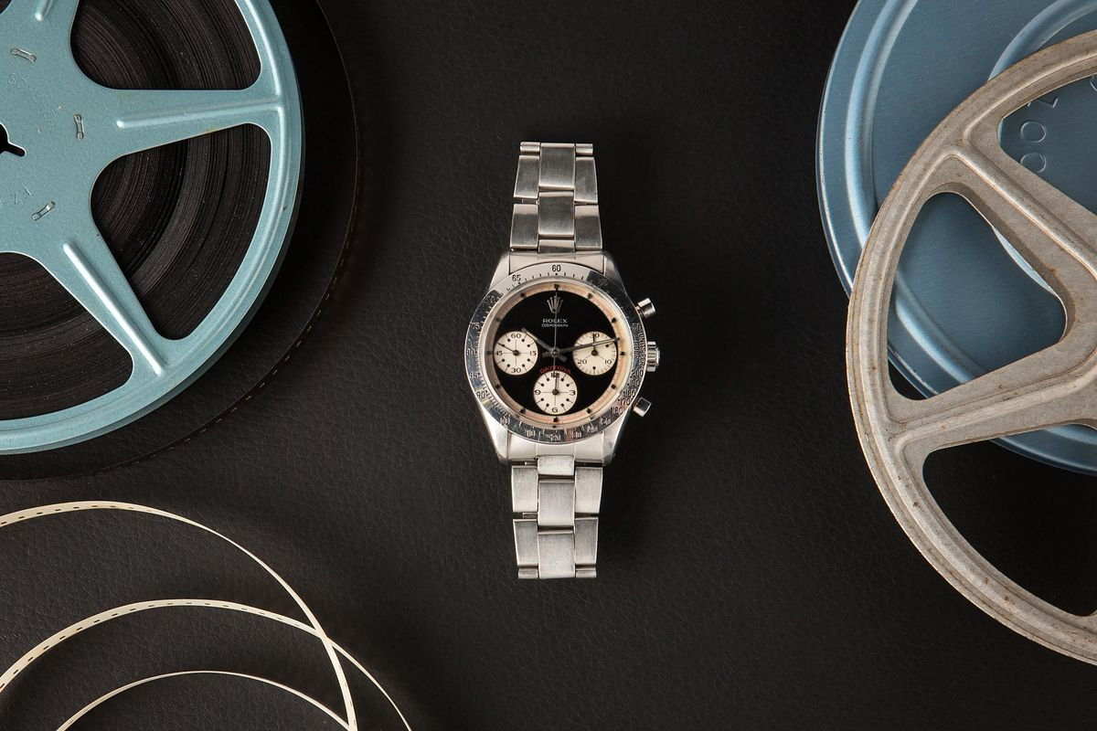 Luxury Watch Auction Iconic Watches Hollywood - Rolex Daytona 6239 Paul Newman
