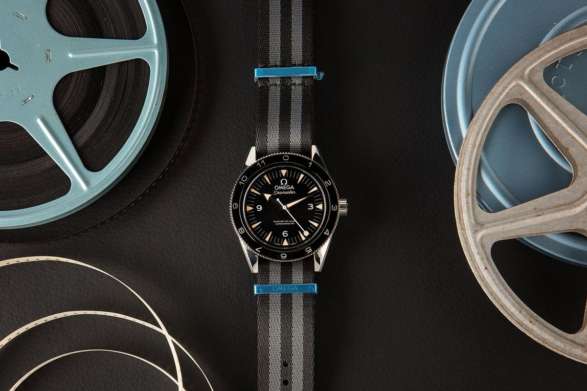 Luxury Watch Auction Iconic Watches Hollywood - James Bond Omega Seamaster 300 SPECTRE
