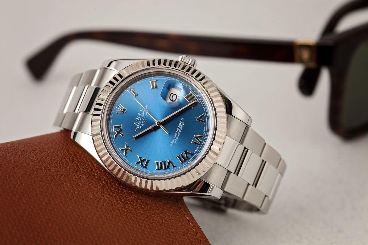 Rolex Datejust White Rolesor Watch Guide