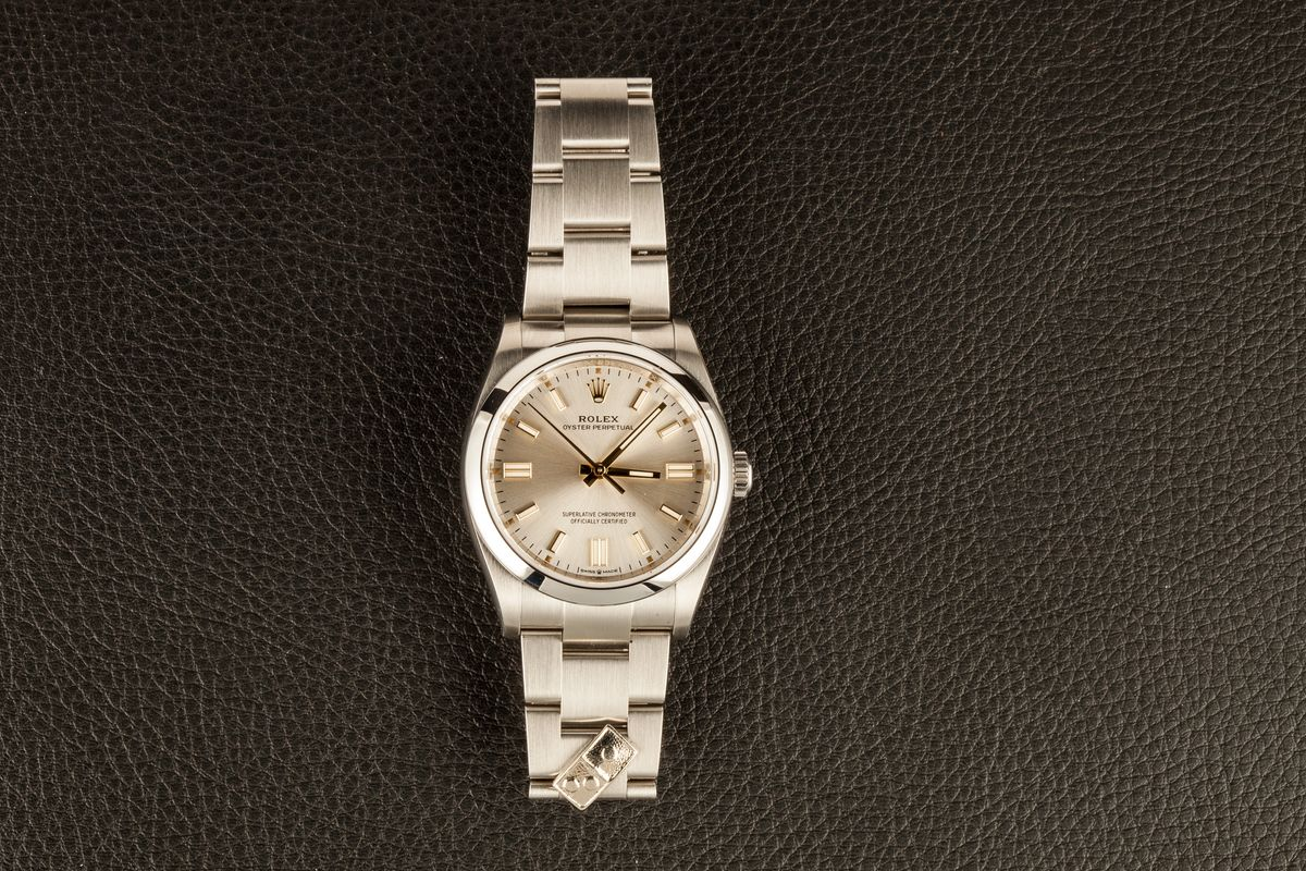 Dominos Rolex Oyster Perpetual 126000