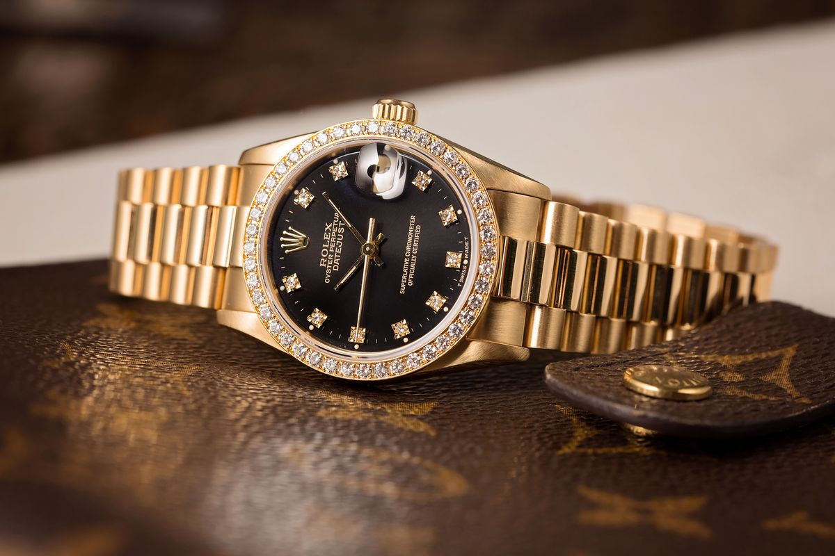 Best Investment Rolex Lady-Datejust 69138 Diamond Bezel