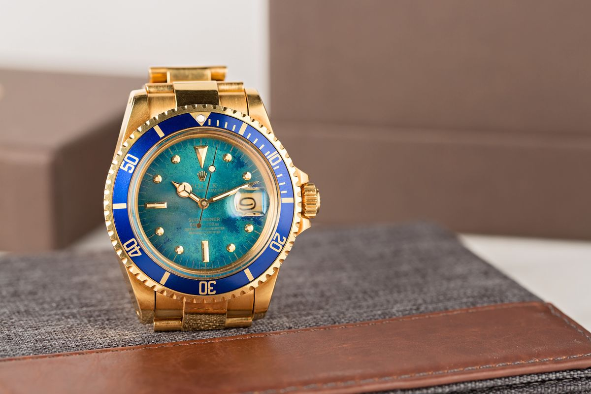Robb Report Tropical Dial Vintage Rolex Submariner 1680