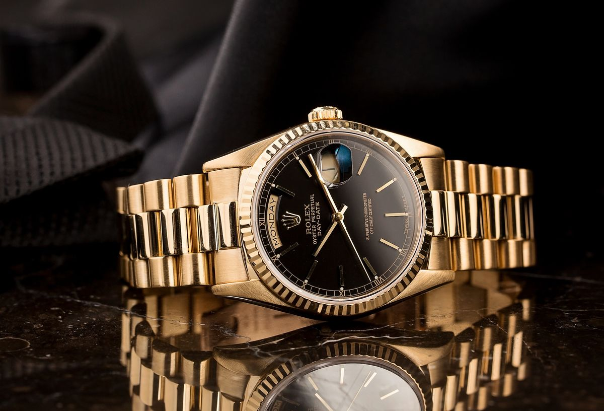 Best Investment Rolex Day-Date President 18238