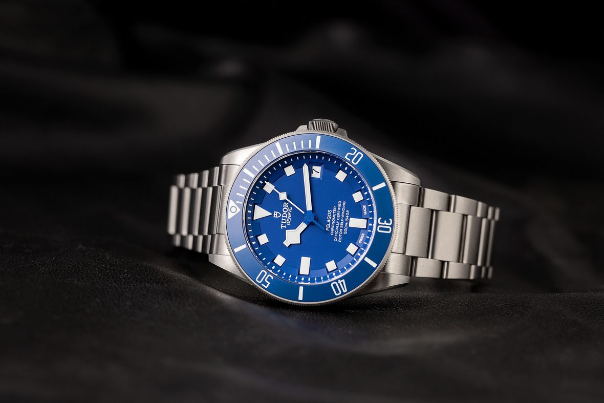 Tudor Pelagos Blue Dial Titanium In-House Movement