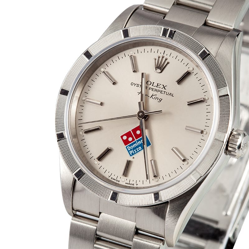 Dominos Pizza Dial Rolex Air-King 14010