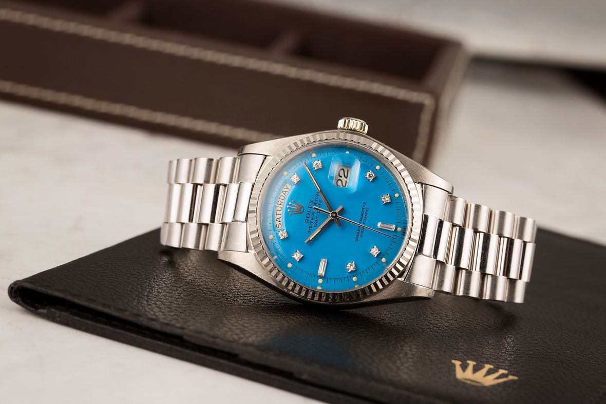 Vintage Rolex Stella Dial vs Oyster Perpetual Blue