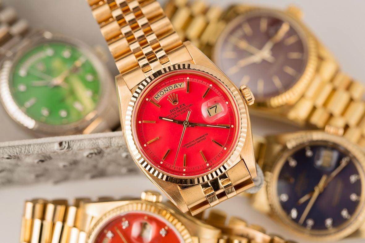 Rolex Stella Dial vs Oyster Perpetual Red Jubilee Bracelet