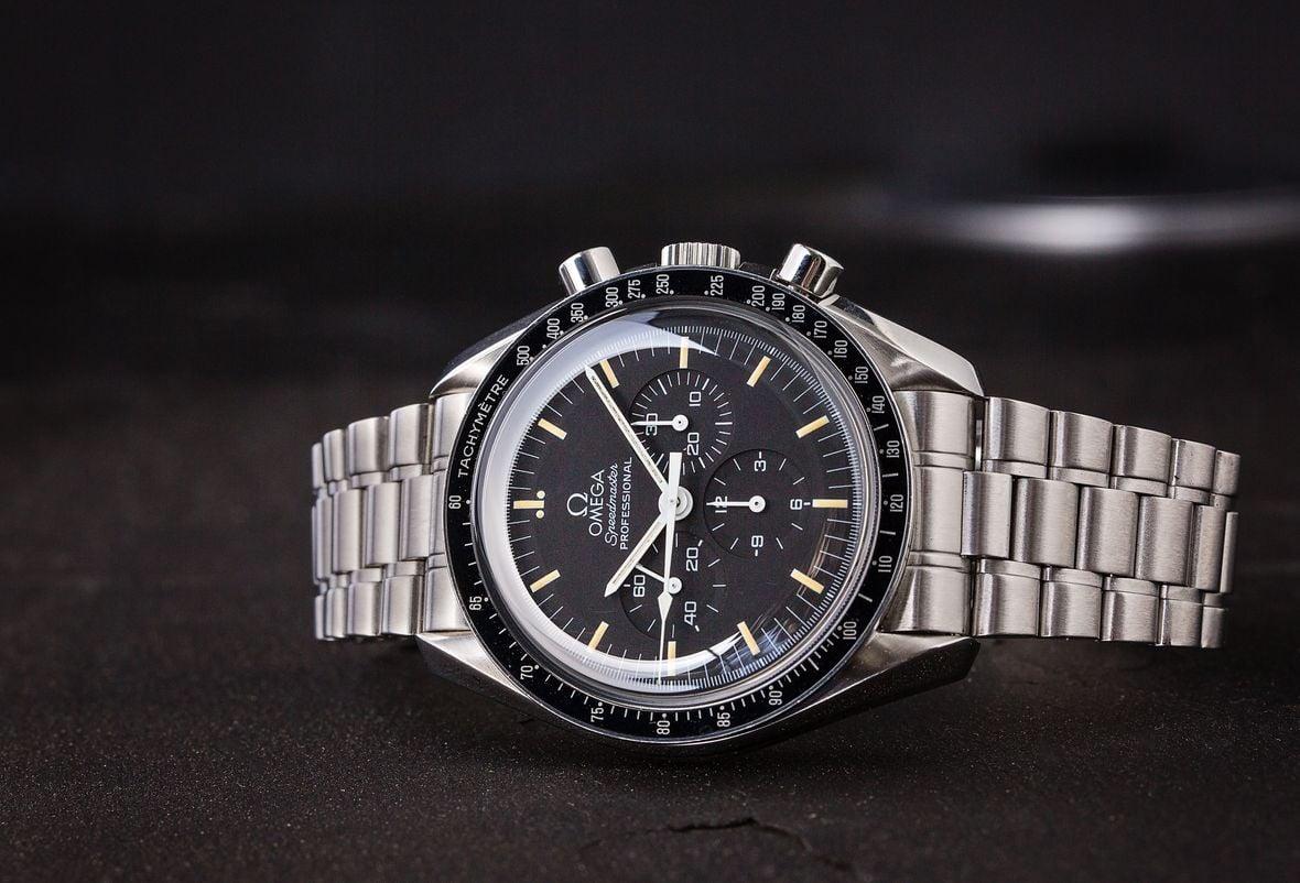 Omega Speedmaster Professional Moonwatch Hesalite Crystal