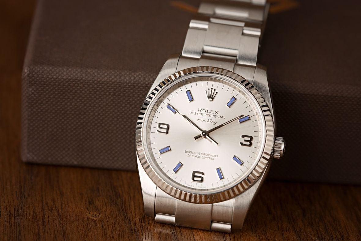 Rolex Air-King 114234 dials
