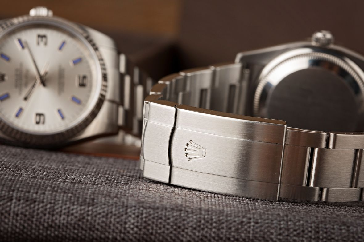 Rolex Air-King 114234 Stainless Steel Oysterclasp Bracelet