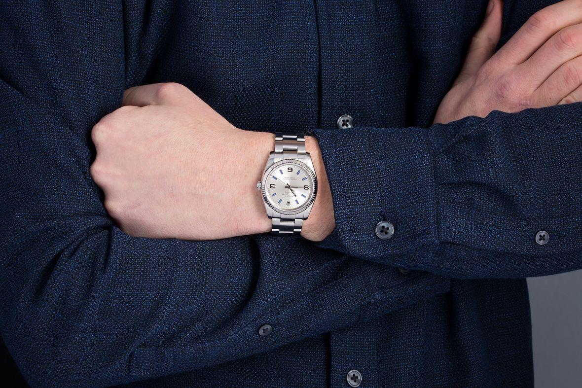 Rolex Air-King 114234 wristshot