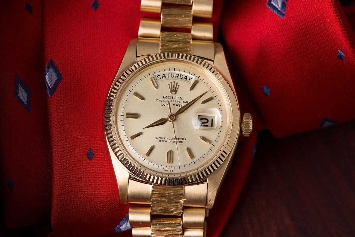 Yellow Gold Rolex Day-Date President 6611
