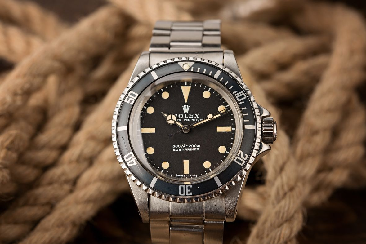 Vintage Rolex 5513 Submariner COMEX Dive Watch
