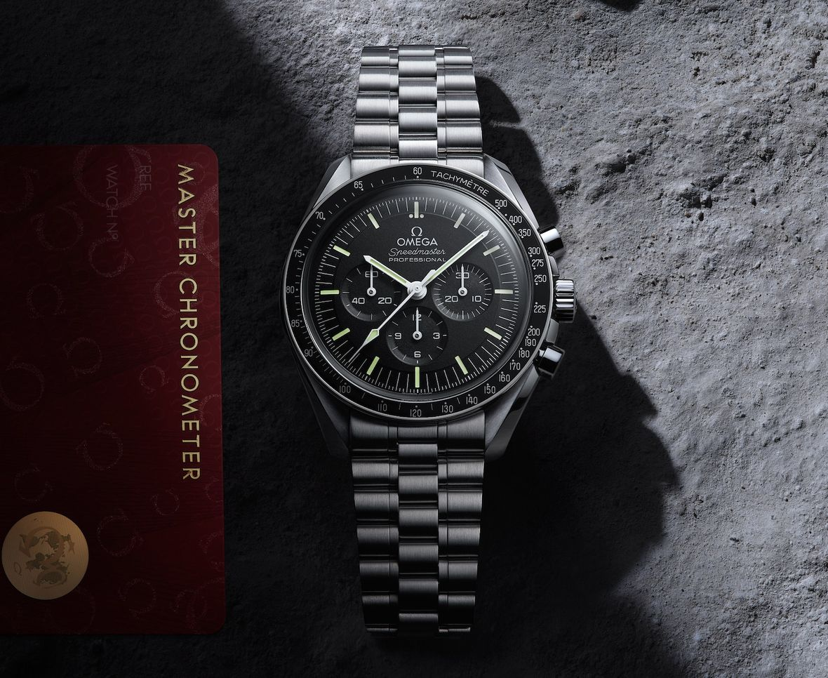 Omega Speedmaster Moonwatch Master Chronometer Co-Axial Caliber 3861 Movement