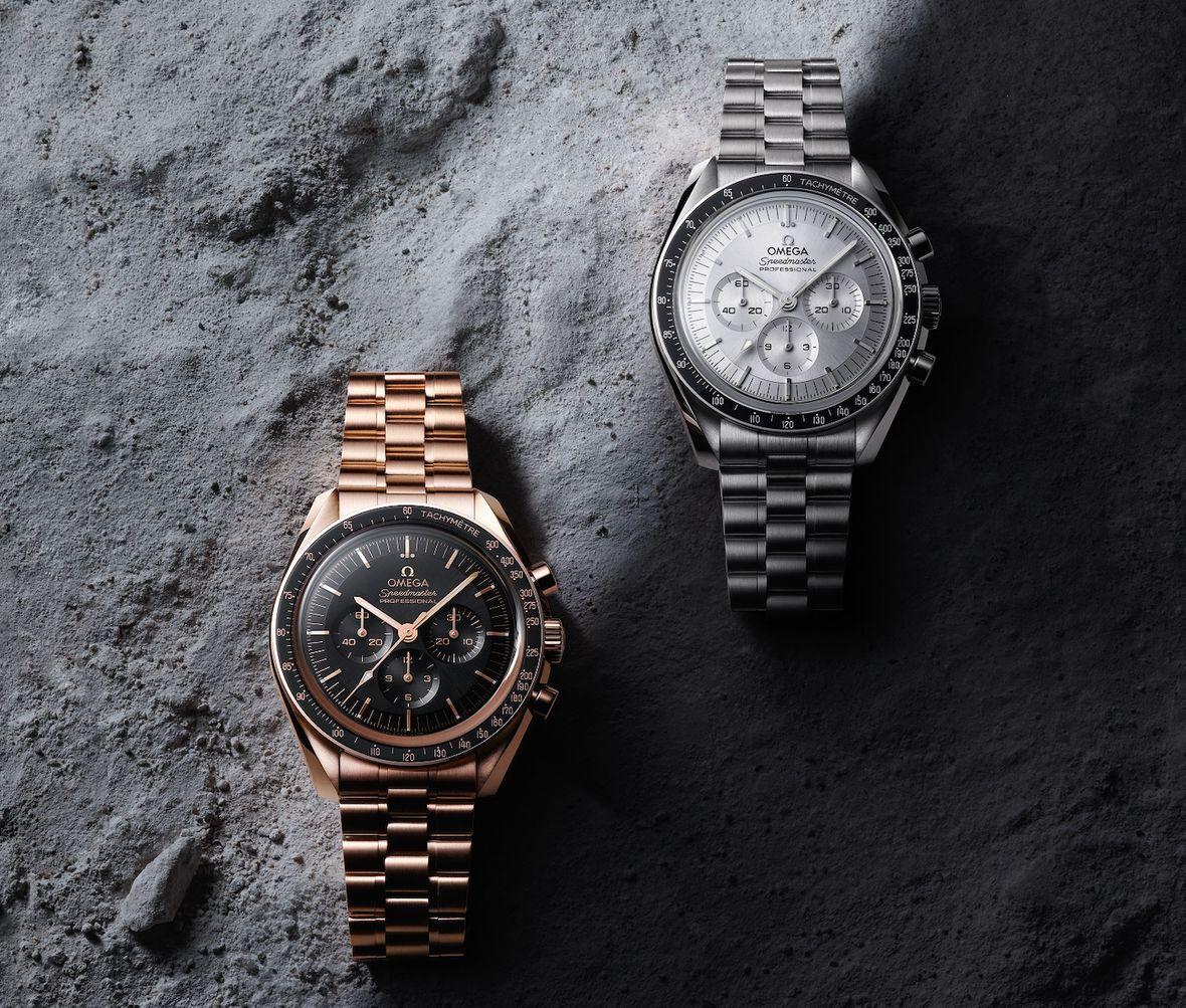 Omega Speedmaster Master Chronometer Caliber 3861 Sedna Canopus Gold