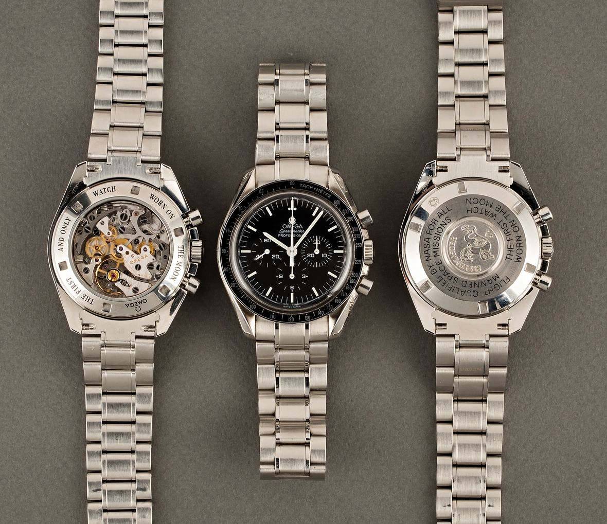 Omega Speedmaster Professional Moonwatch Caliber 1861 and 1863 Movements
