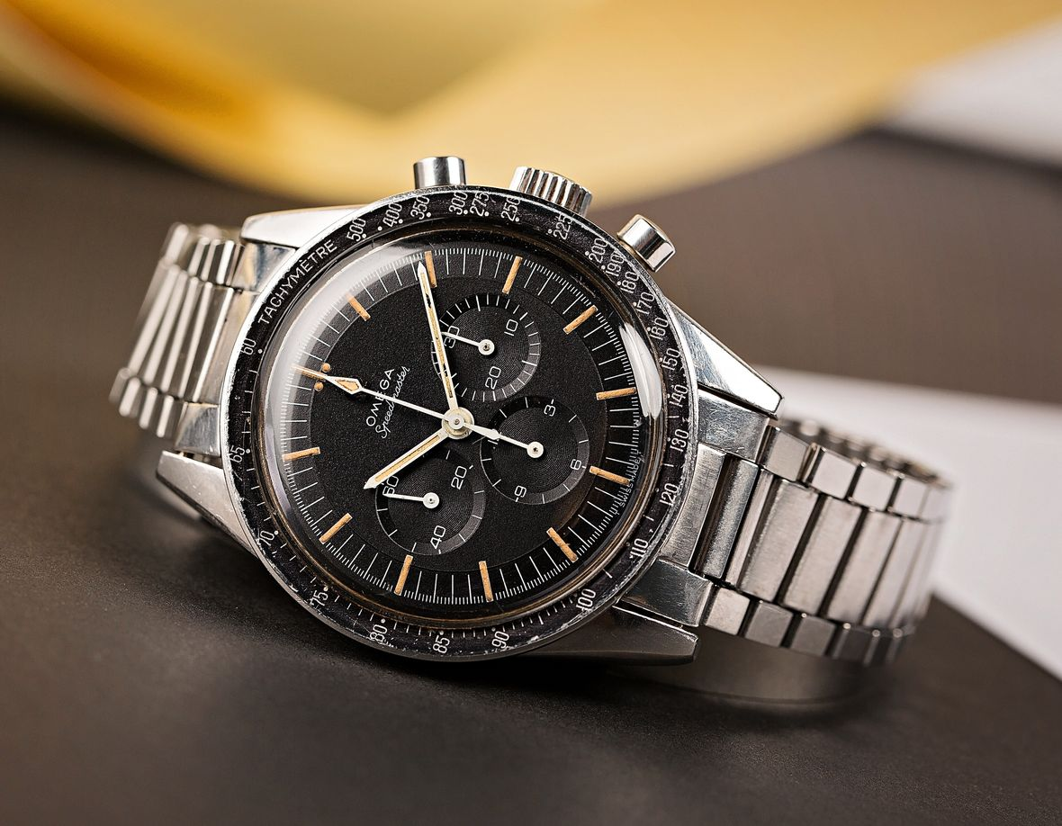 Vintage Omega Speedmaster Moonwatch