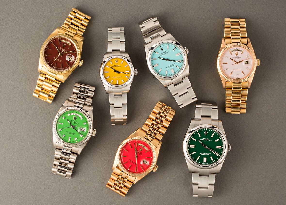 Rolex Stella Dial vs Oyster Perpetual Colorful Dials