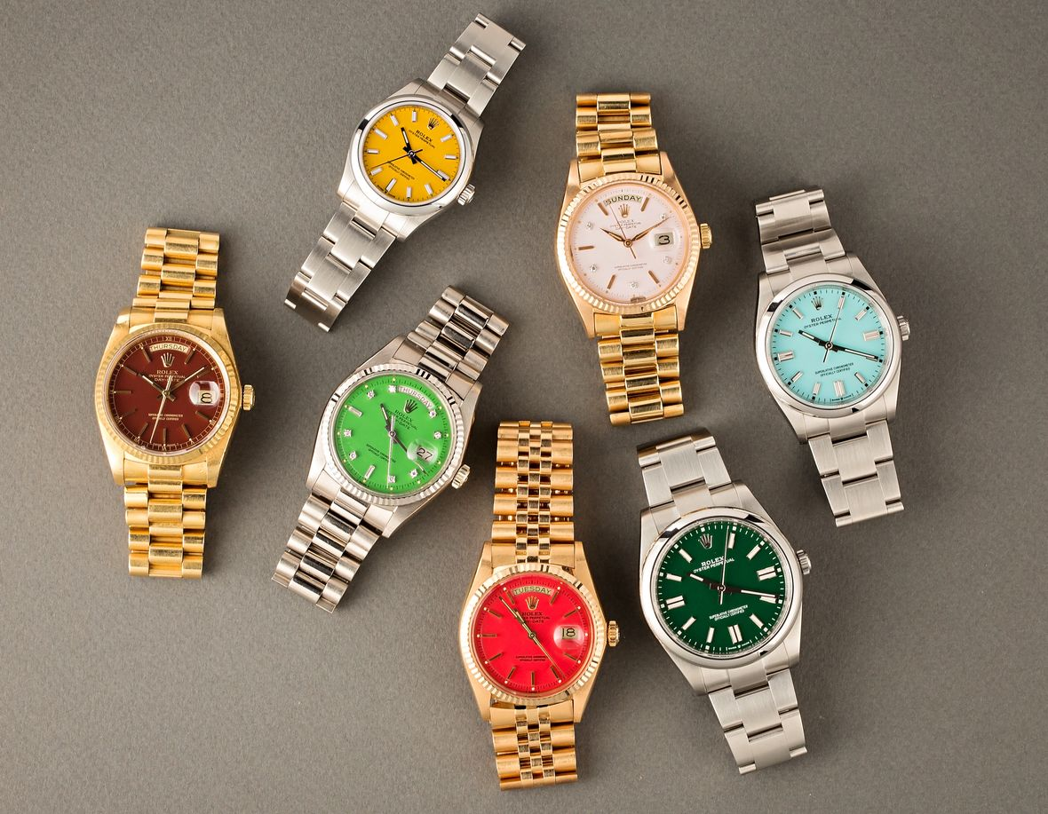 Vintage Rolex Stella Dial vs Oyster Perpetual Watches