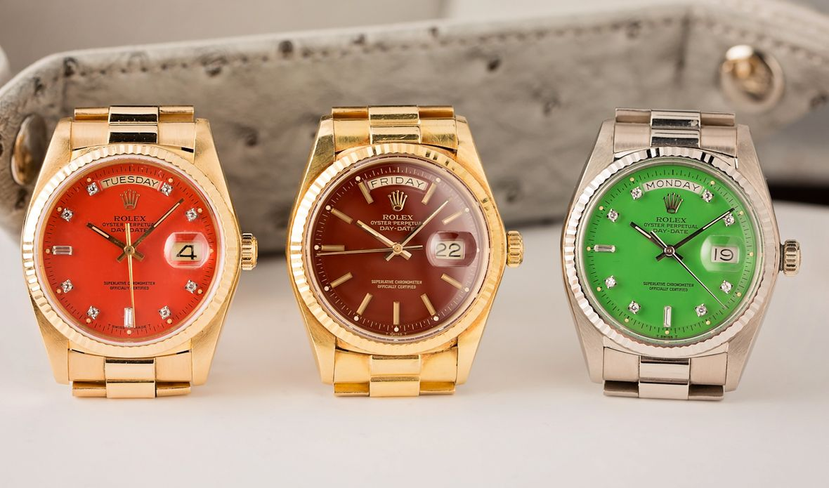 Vintage Rolex Stella Dial Watches vs Oyster Perpetual