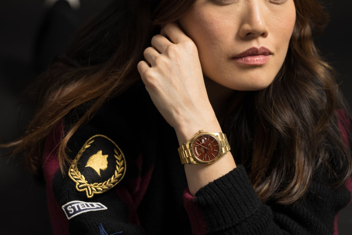 Vintage Rolex Stella Dial vs Oyster Perpetual Oxblood President