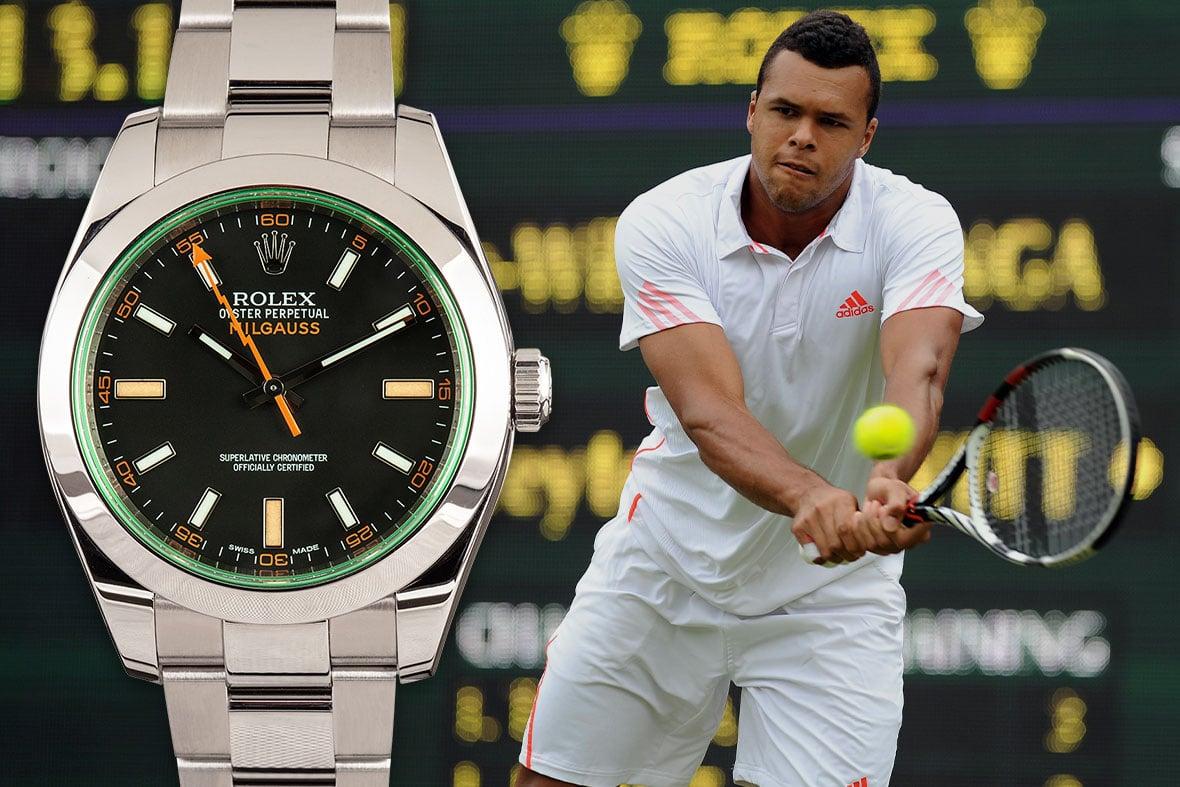 Rolex Tennis Jo-Wilfried Tsonga Milgauss
