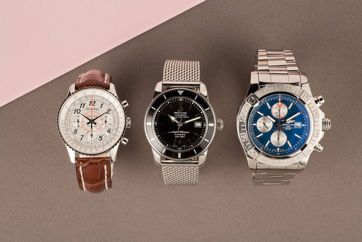 Best Watches for Valentine's Gifts Breitling Watch