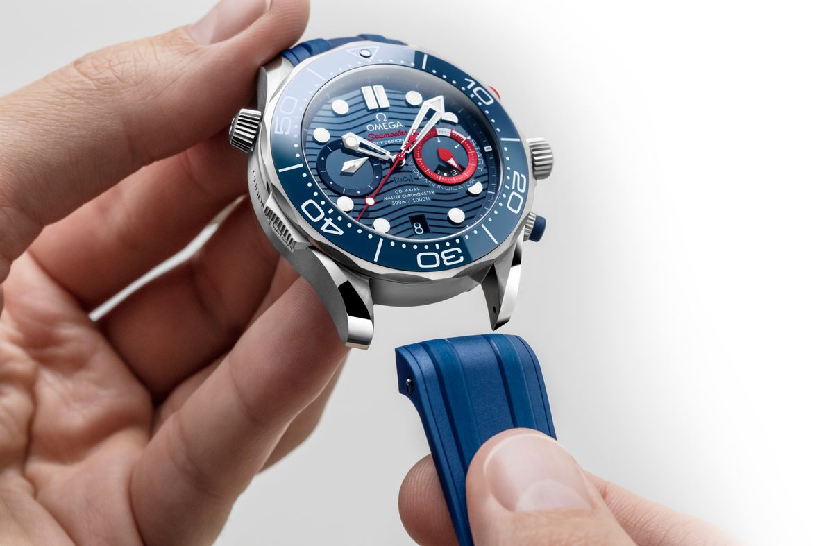 Omega Seamaster Diver 300M Chronograph America's Cup Edition