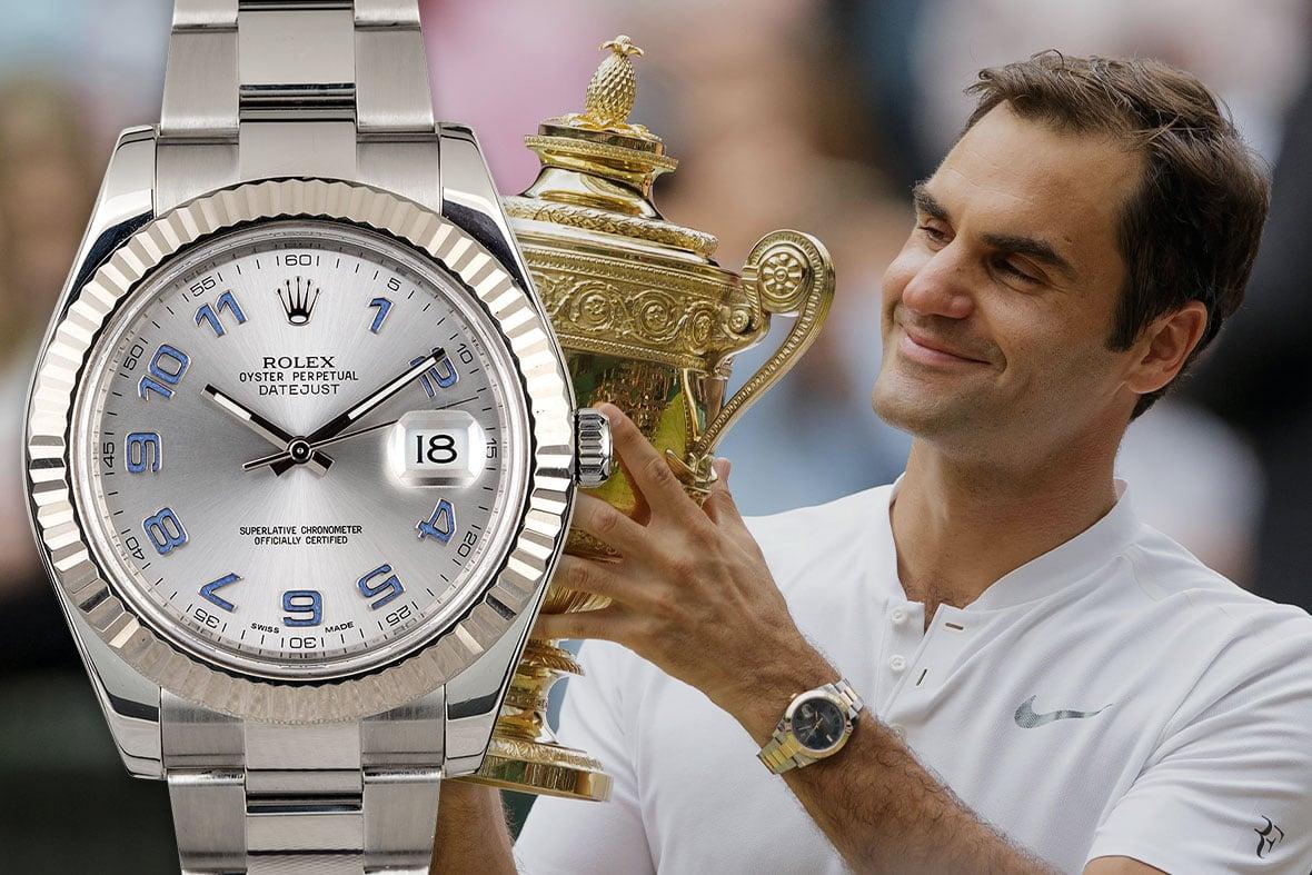 Rolex Tennis Roger Federer Datejust