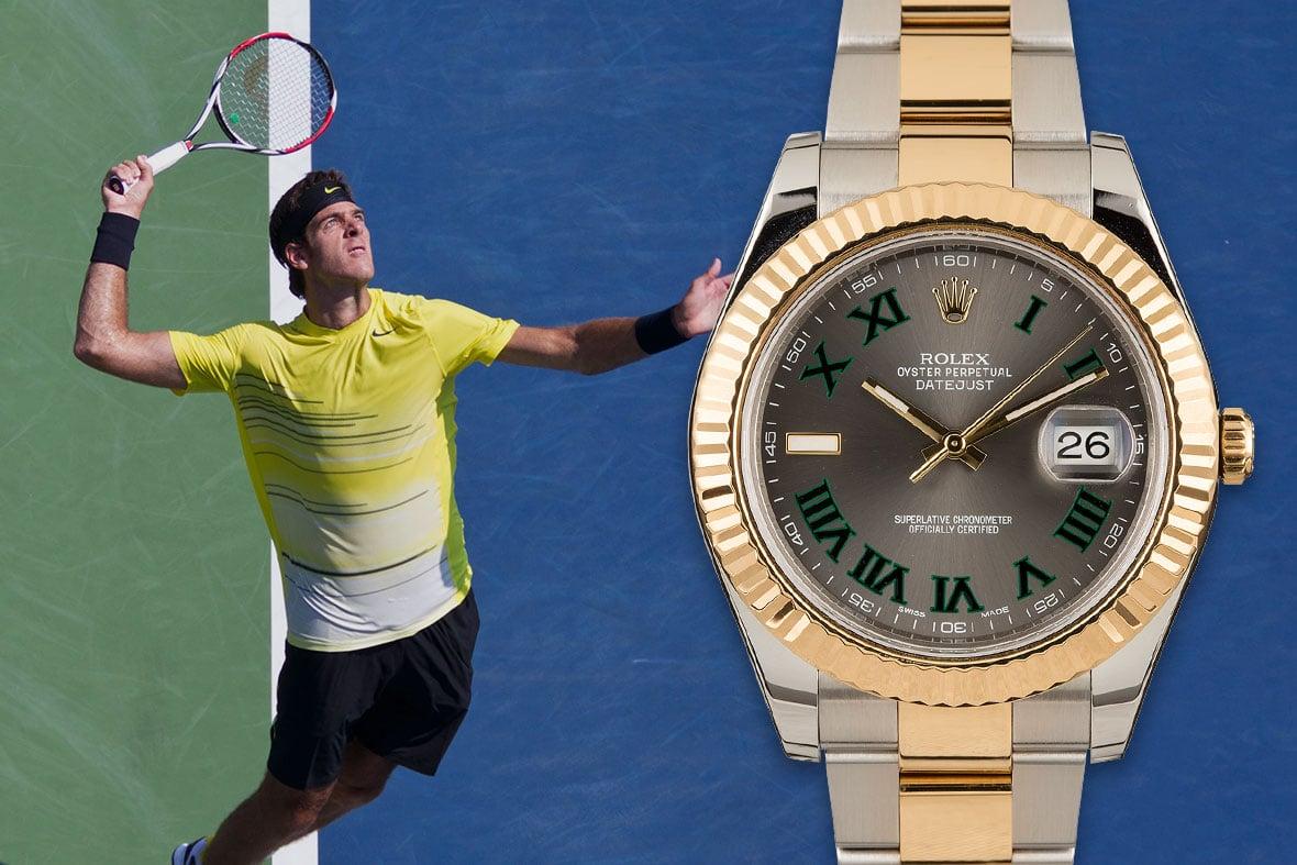 Rolex Tennis Juan Martín del Potro Datejust