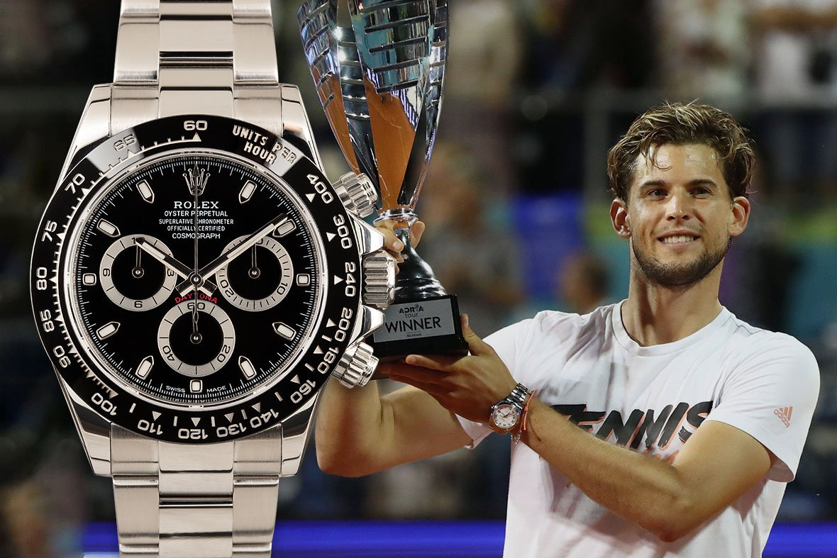 Rolex tennis Dominic Thiem Daytona